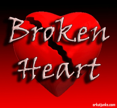broken heart sms for him