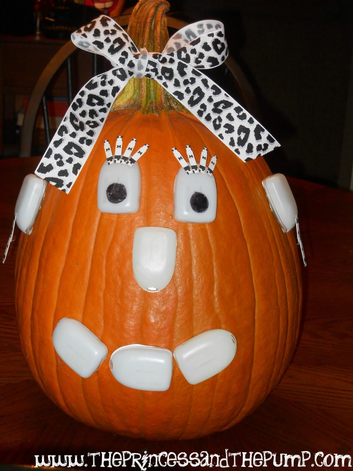 The Princess and The Pump: A Type 1 Diabetes Blog: Pumpkin ...