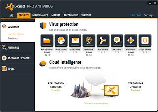 Avast Pro Antivirus 2013 8.0.1488 Full