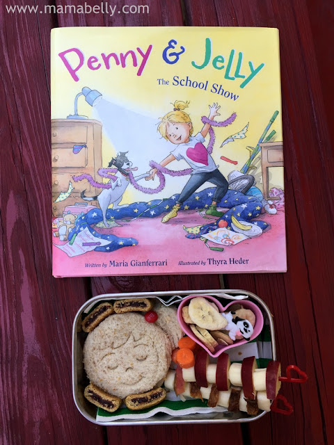 Penny & Jelly Literary Lunch in our Kid Konserve Bento - mamabelly.com