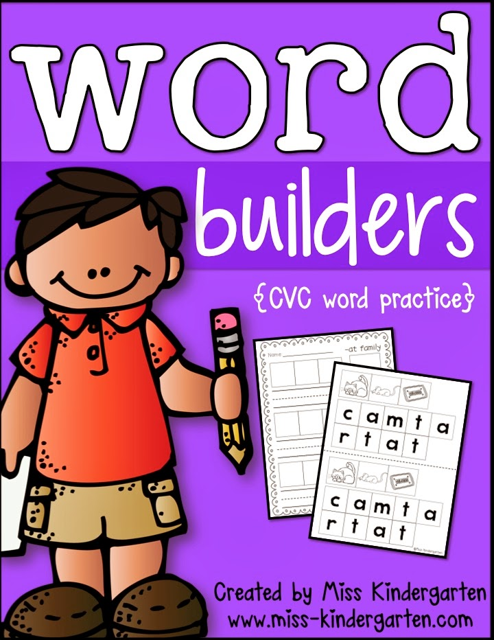 http://www.teacherspayteachers.com/Product/Word-Builders-CVC-Word-Practice-1079996