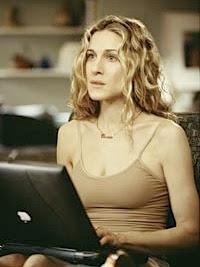 carrie bradshaw laptop apple macintosh