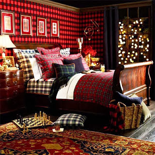 Christmas Gift Tree Print 4 Piece Bedding Sets
