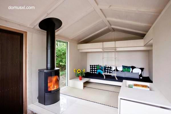 Cabaña de madera diseño y estilo Contemporáneo
