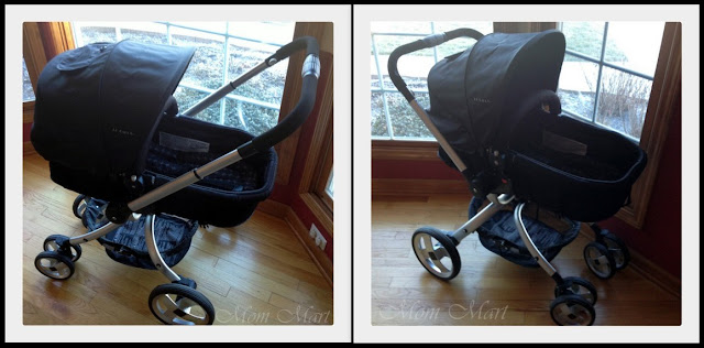 JJ Cole Broadway Stroller with Bassinet