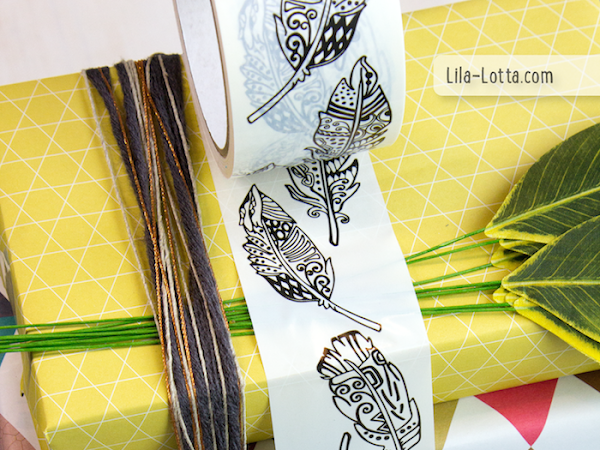 Hübscht eure Pakete mit Pluma Paketklebebändern auf
