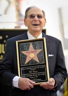 Hal David's Hollywood Star from Bobby Owsinski's Big Picture production blog