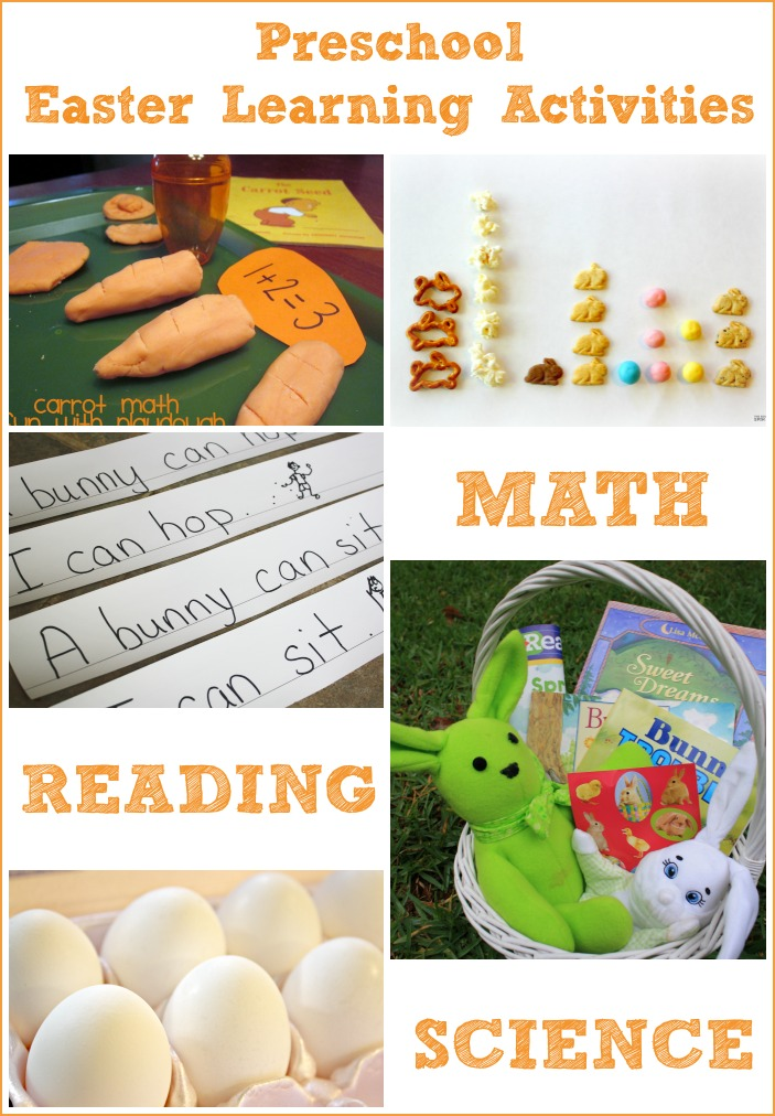 Easter Learning Activities for Preschoolers