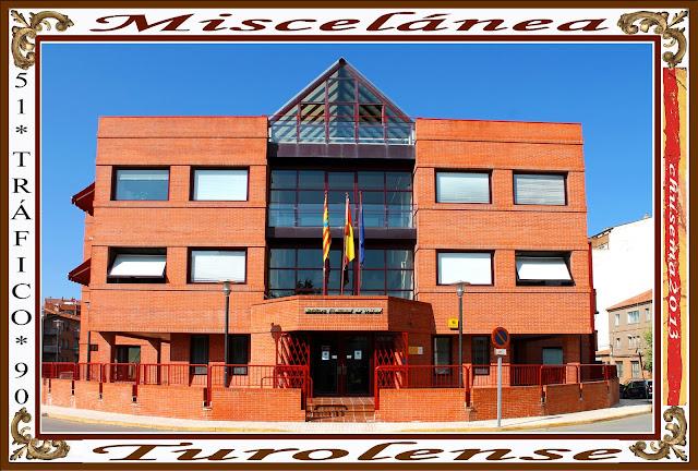 Miscel nea turolense julio2013 miscel nea edificio de la - Jefatura provincial de trafico madrid ...