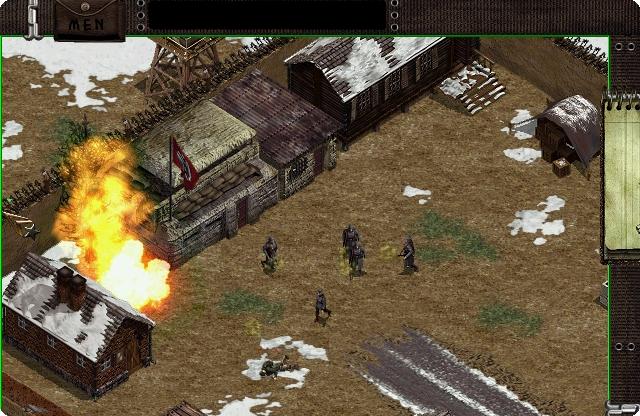 Commando Behind Enemy Lines Game