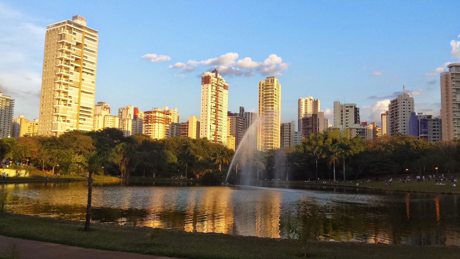 Parques, cidade verde, natureza, caminhadas, Goiânia