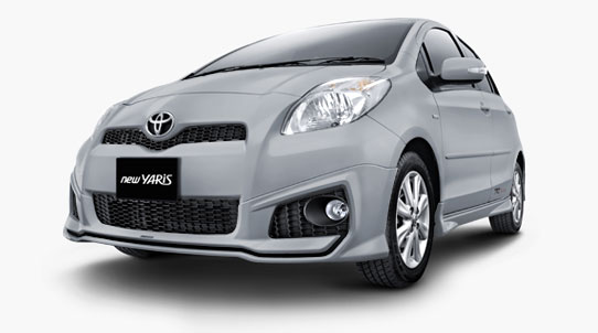 Warna Ready Stok Toyota New Yaris 2013