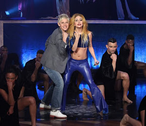 LADY GAGA ON ELLEN