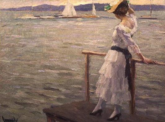 Edward Cucuel 1875-1954 | American Impressionist painter