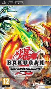Bakugan - Defenders of the Core - PSP - ISO  - Download