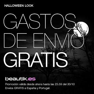 Promoción Halloween 2013 en Beautik