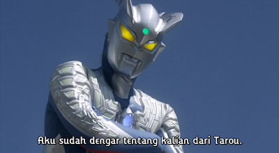 Ultra Galaxy Legend Gaiden Ultraman Zero vs. Darclops Zero Subtitle Indonesia