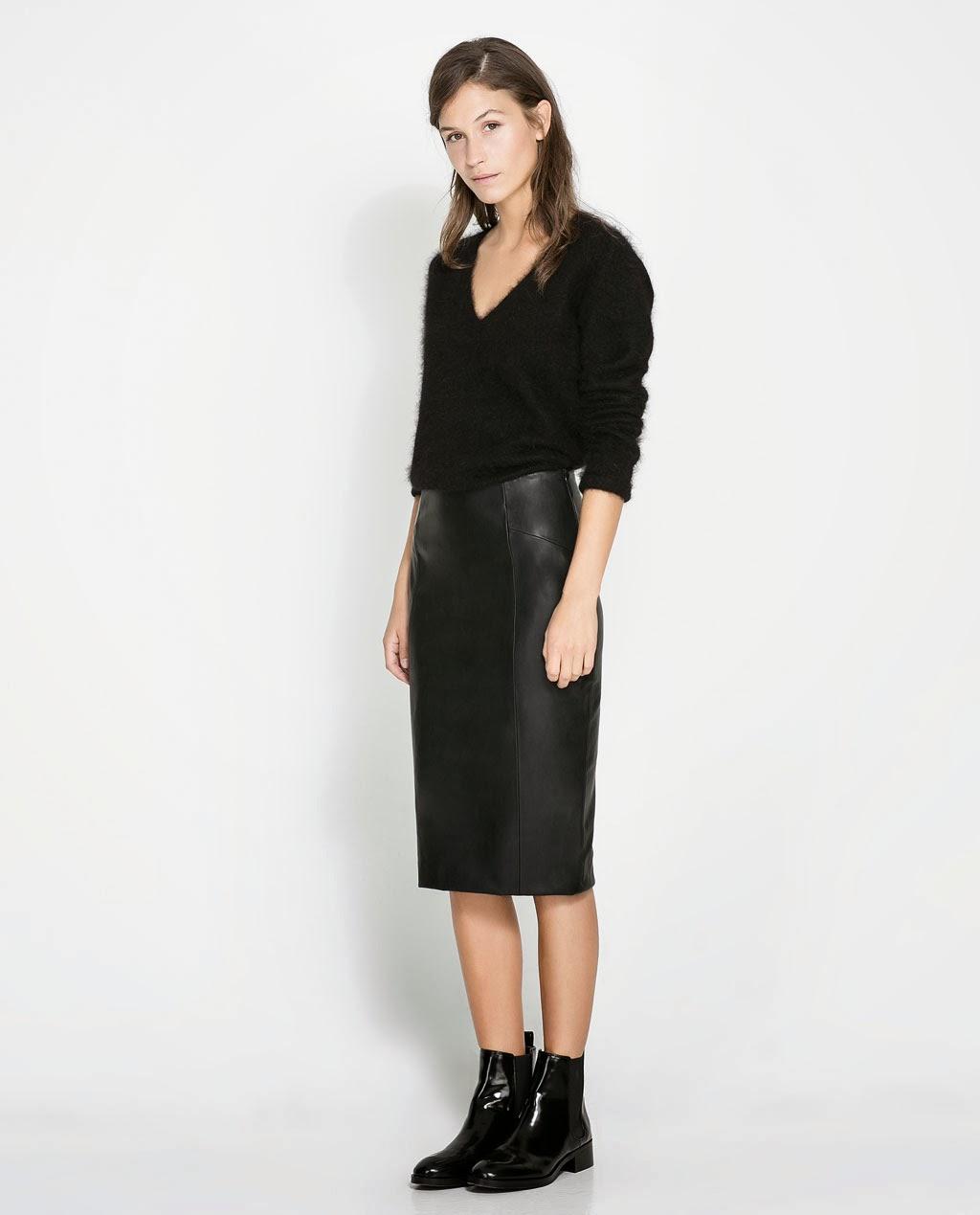 Зара юбки