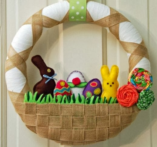 Easter Wreaths, part 6