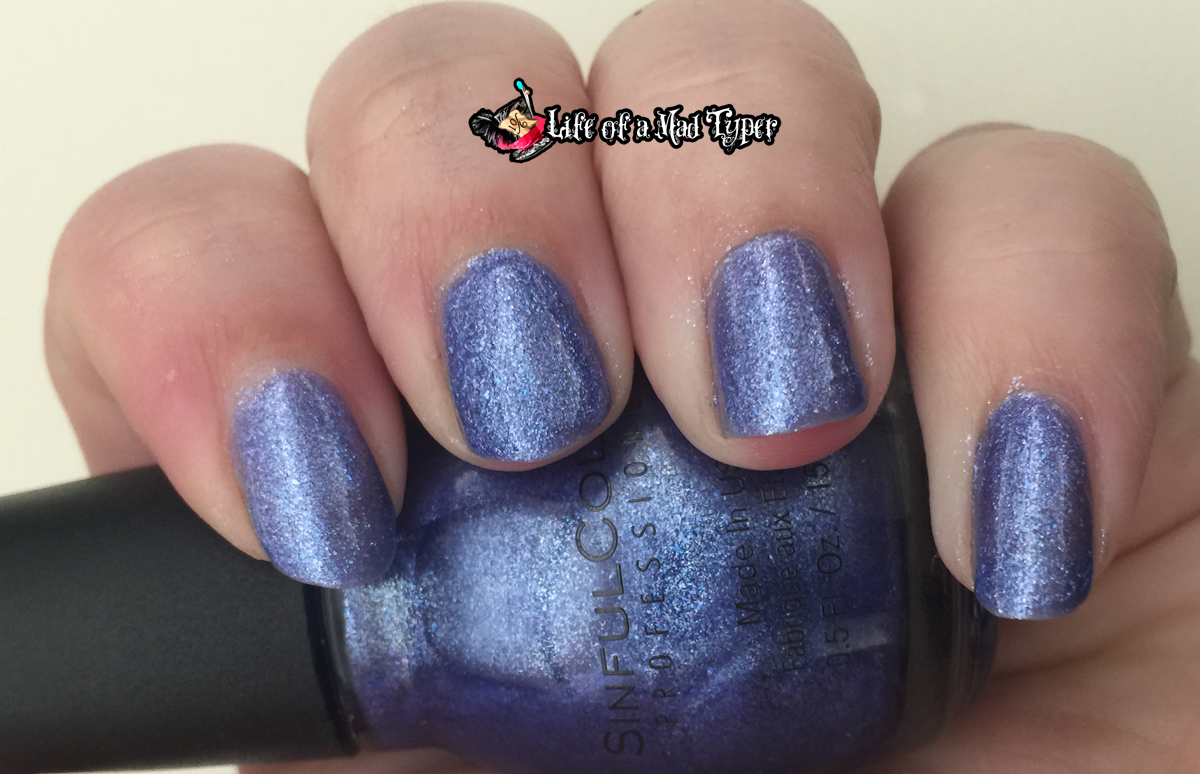 SinfulColors Ice Blue