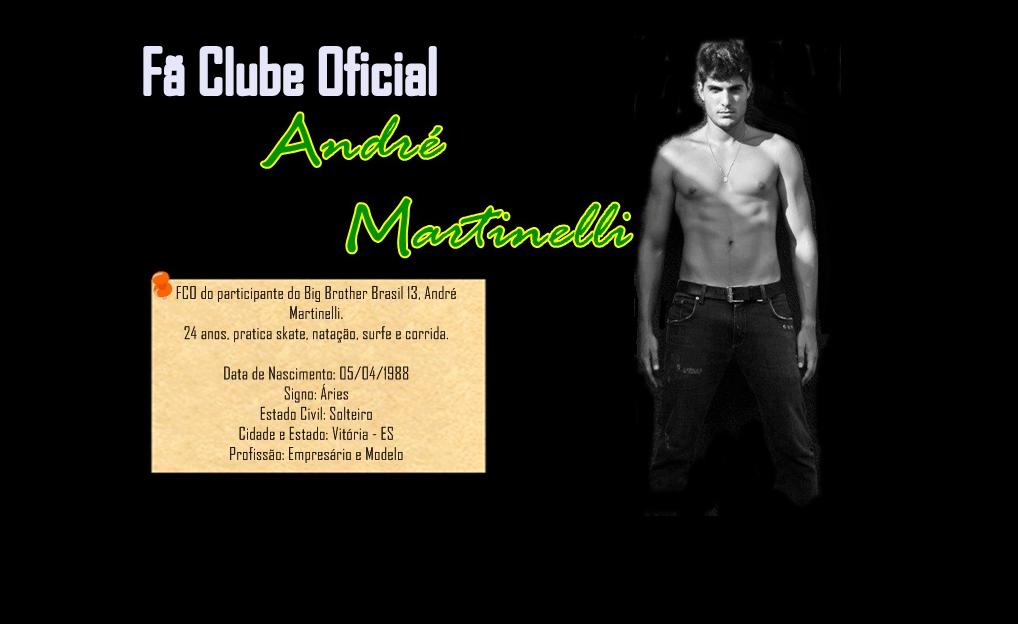 Fã Clube Oficial Andre Martinelli
