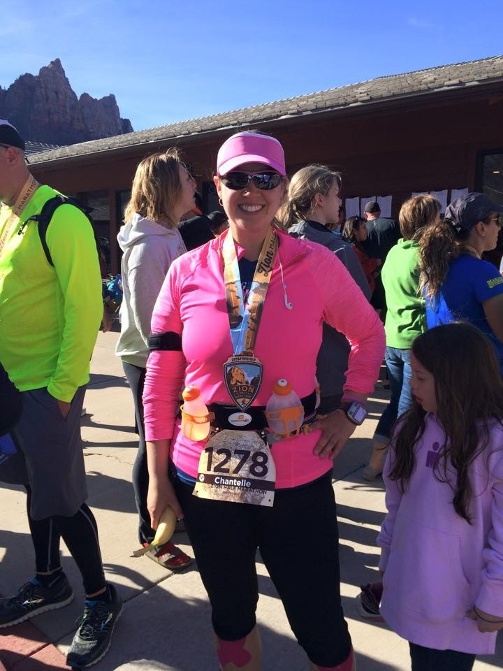 First Half Marathon in Zion, Utah