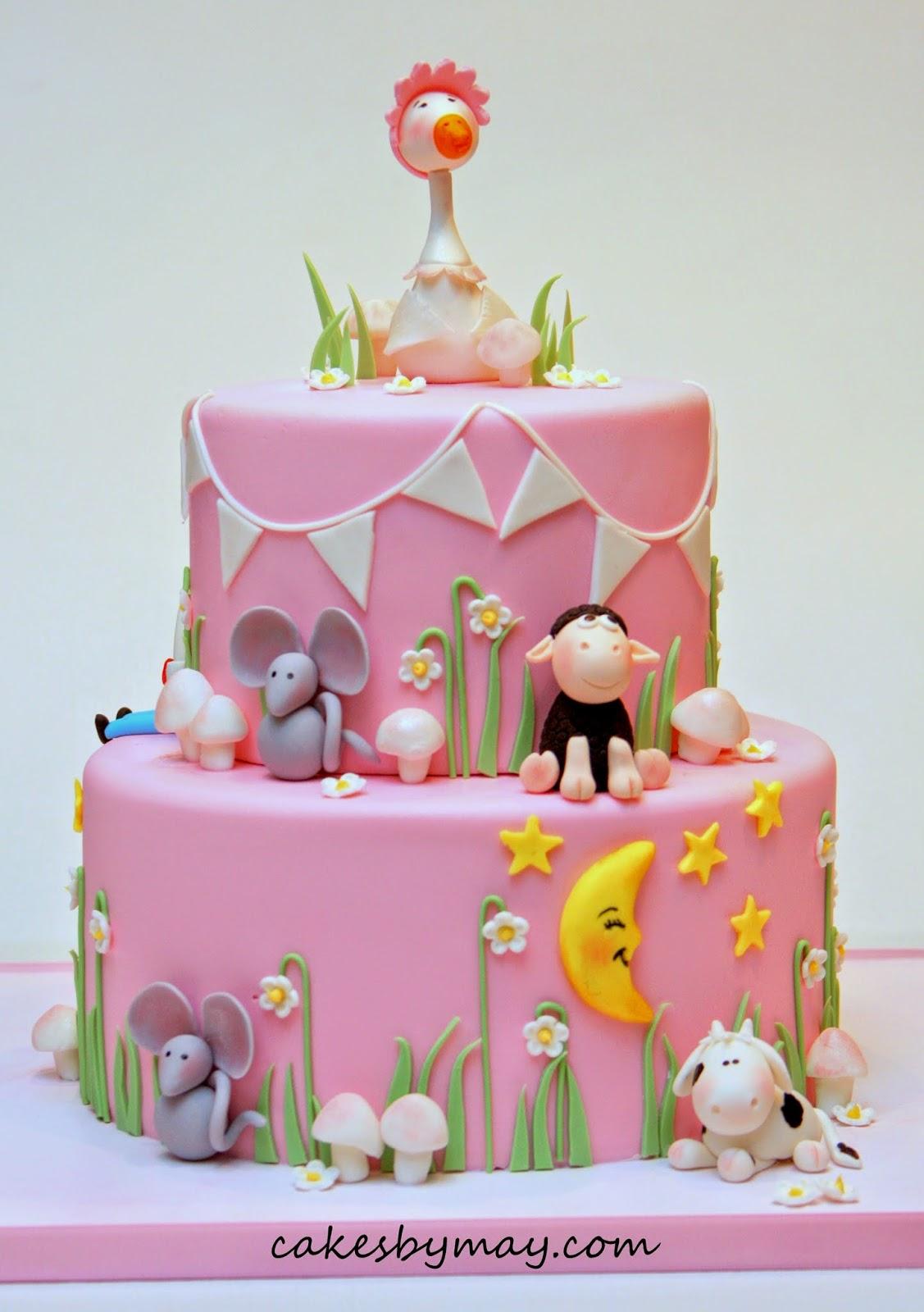 Nursery Rhymes Baby Shower Cakes