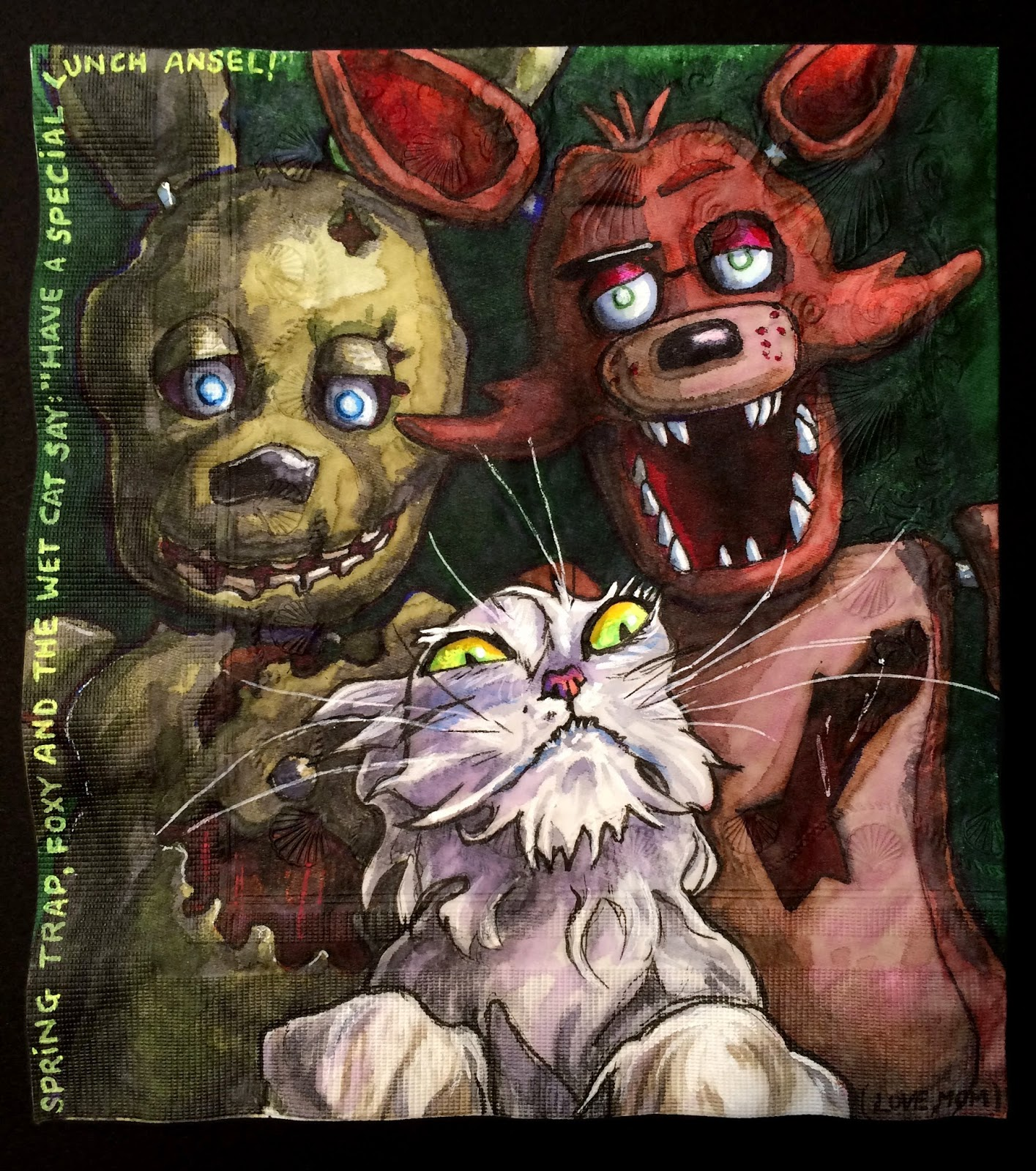 Five Nights At Freddys Animals Names
