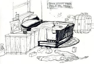 Messy Room by Shel Silverstein1