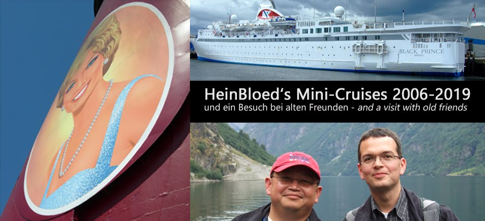 HeinBloeds Mini-Cruises 2006-2019 und ein Besuch bei alten Freunden....