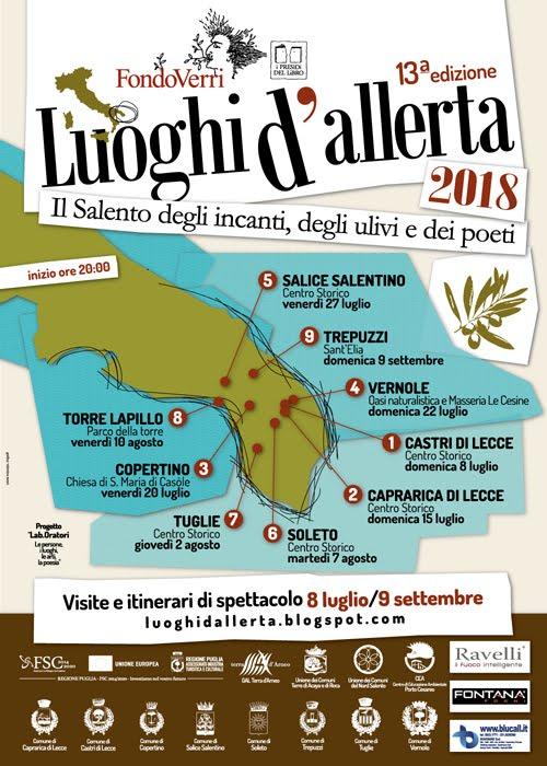 Luoghi d'Allerta 2018