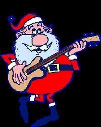 Guitar Santa