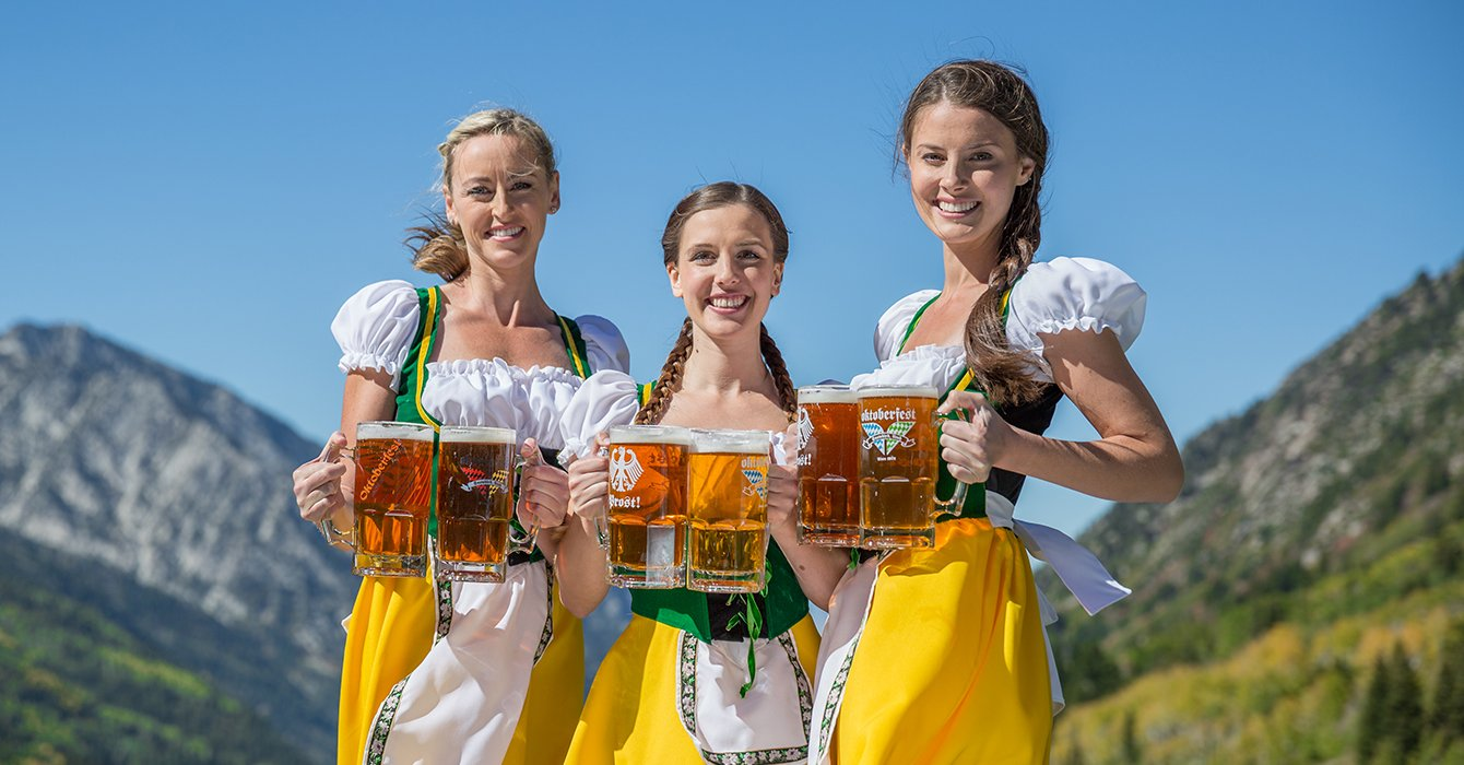 Utah Beer Snowbird S 43rd Annual Oktoberfest Celebration