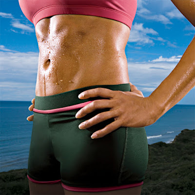 Squeezing Abs for a Flat Stomach
