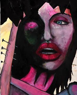 Sombras goticas: Pinturas de marilyn manson y dibujos de ... Helena Bonham Carter