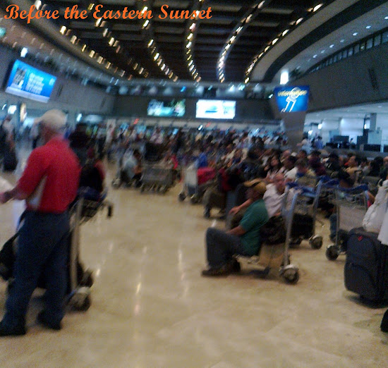 No seats inside NAIA Terminal 1