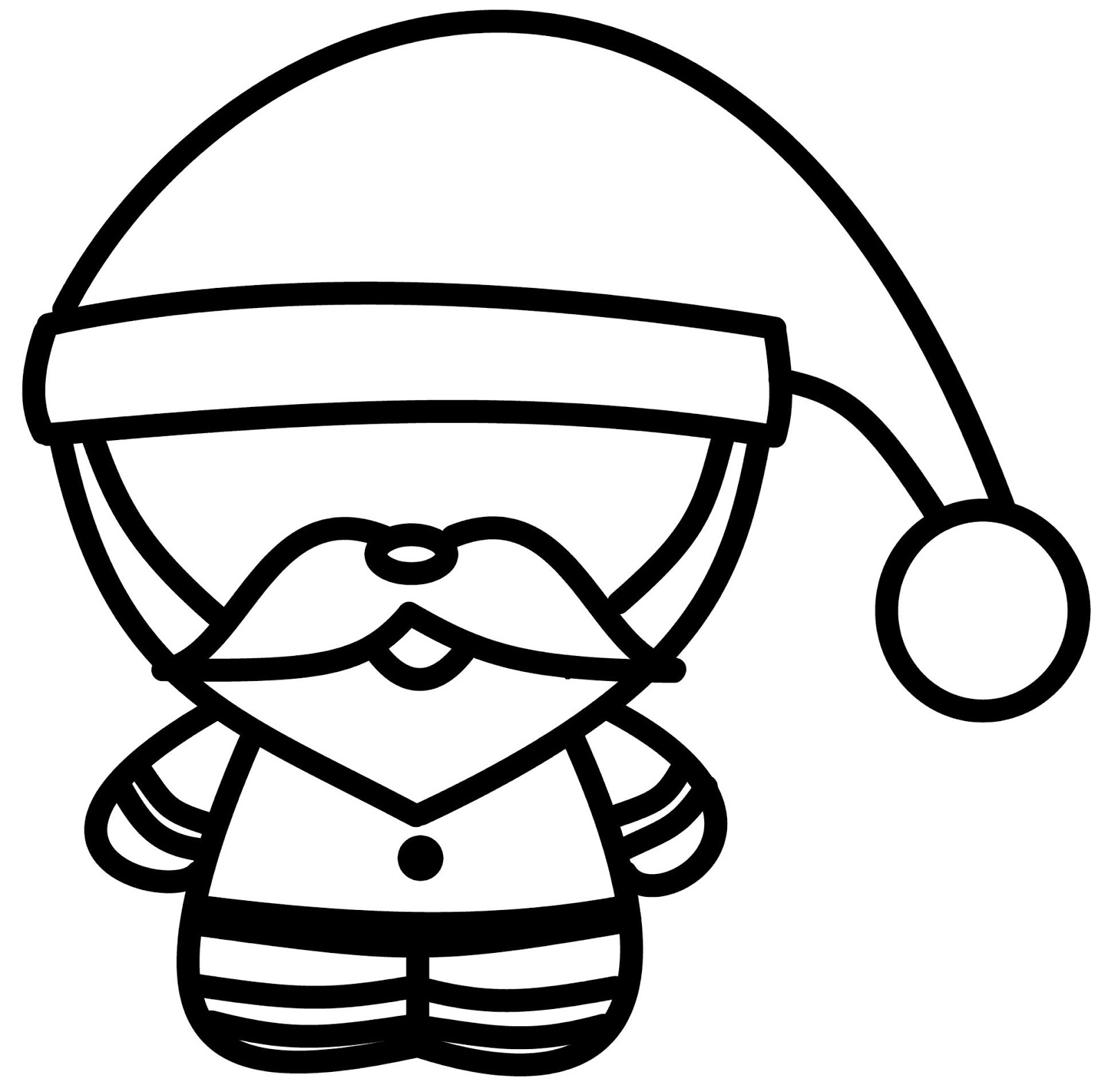 How To Draw Cartoons: Chibi Santa