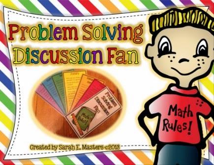 http://www.teacherspayteachers.com/Product/Problem-Solving-Discussion-Fan-Math-Problem-Solving-1074822