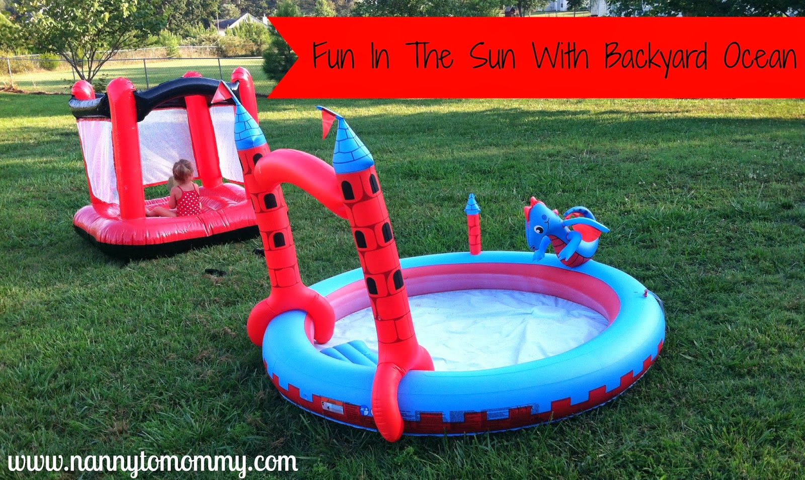 nanny to mommy fun in the sun with backyard ocean