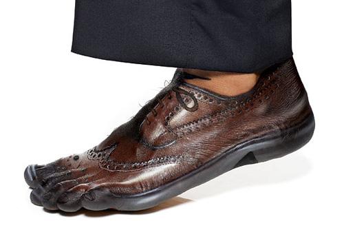 Realistic Shoe Body Paint Illusion