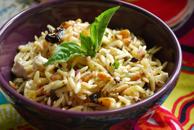 This salad can be made up to two days in advance. Salad is best at ...