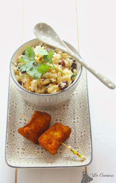 como cocinar cous cous y pollo al curry