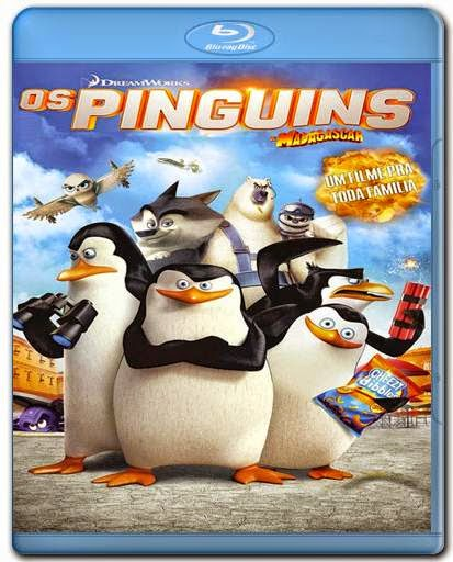 Download Os Pinguins de Madagascar AVI BDRip Dual Áudio + Bluray 720p e 1080p Dublado + 3D Torrent