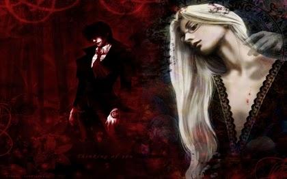 Vampirismo, fetiche de sangue