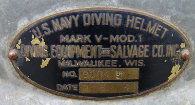 US Navy Diving Helmet DESCO Mark V