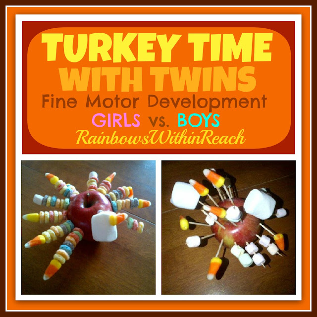 photo of: Fine Motor Development: Girls vs. Boys via RainbowsWithinReach