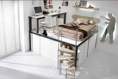 Gambar Desain Interior Kamar Tidur 09