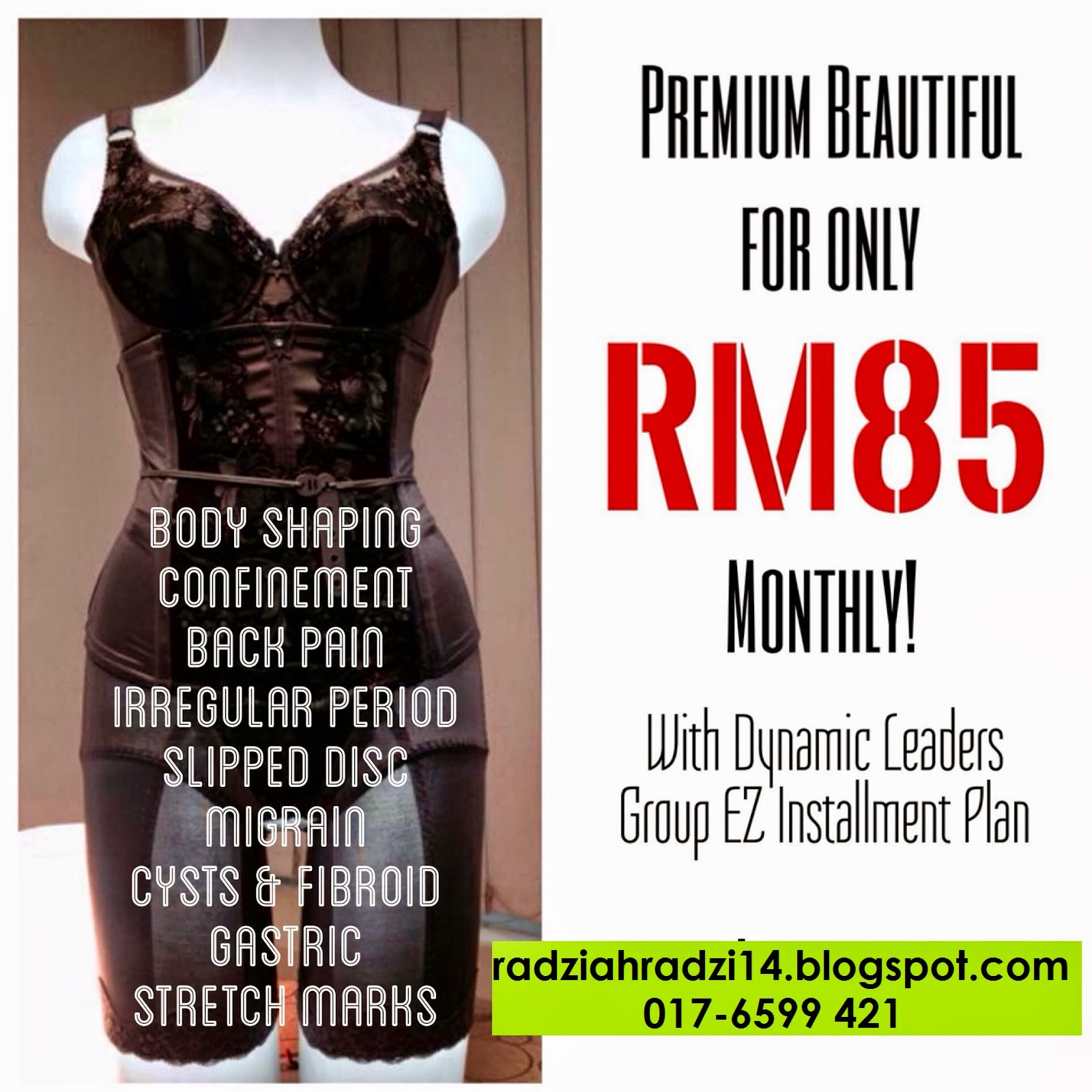 benefits, installment plan, premium beautiful, premium beautiful corset, premium beautiful elegance, promosi, sakit belakang, slipped disc,