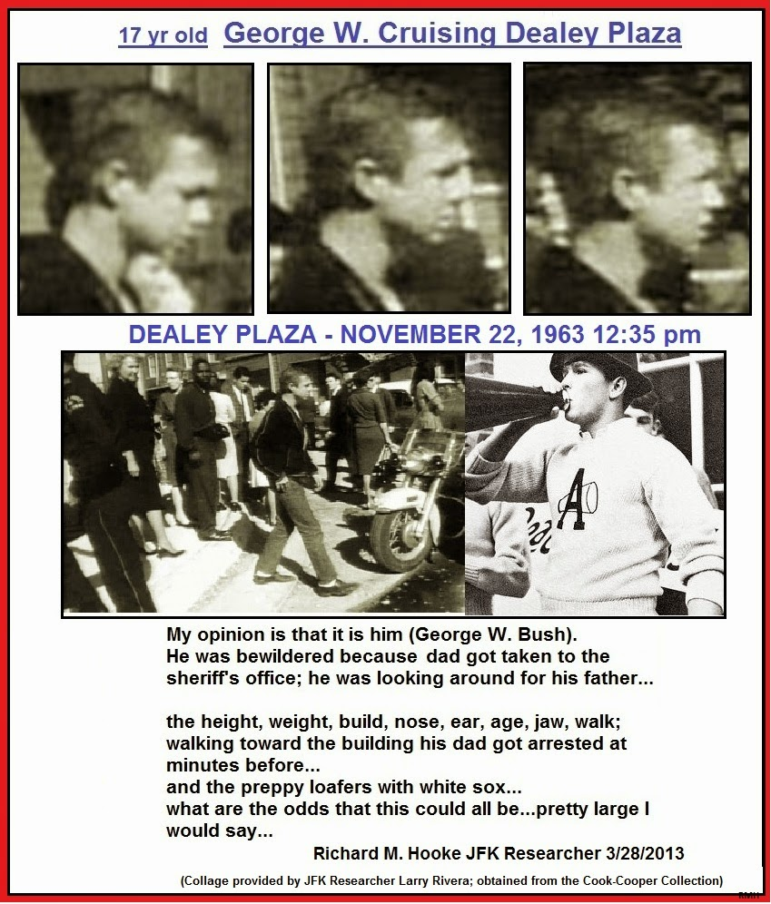 the conspiracy zone part five the conspiracy zone reveals  there seems to be evidence that even the young george w bush was in dallas that day too
