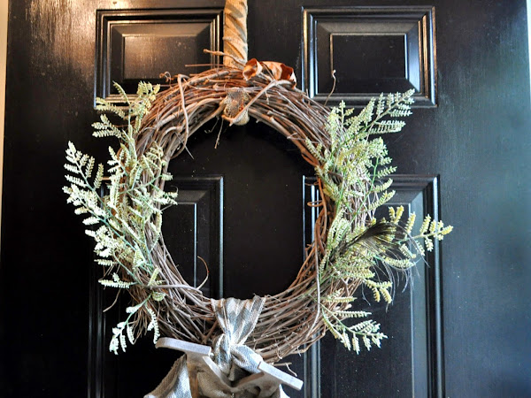 Spring Refresh: Front Door Wreath Update and One Kings Lane